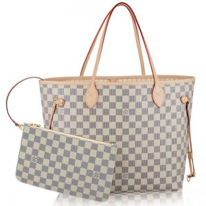 As One Of The Most Classic Series Lv Neverfull Handbag Which Was Born In 2007 Gives Off Strong Modern Style Its Name Tells Us Can